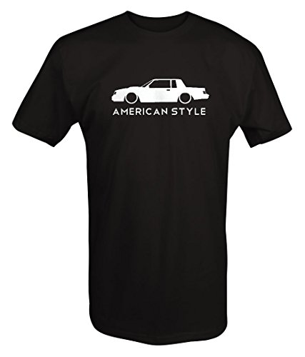 American Style Buick Grand National Turbo GNX Lowered Racing T shirt - Xlarge