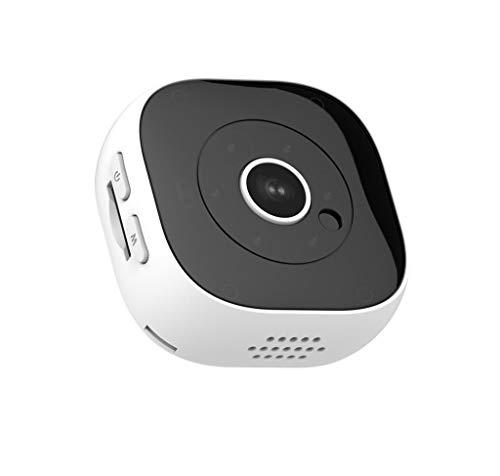 KEERADS-high tech HD 1080P Mini cámara inalámbrica WiFi Security CAM Night Vision Motion Detección Mini Cámara Deporte DV (con WiFi) iOS Android Blanco Blanco