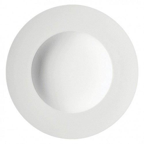 DEGRENNE - Boreal Blanc Lot de 3 assiettes à pate/soupe ronde 29 cm