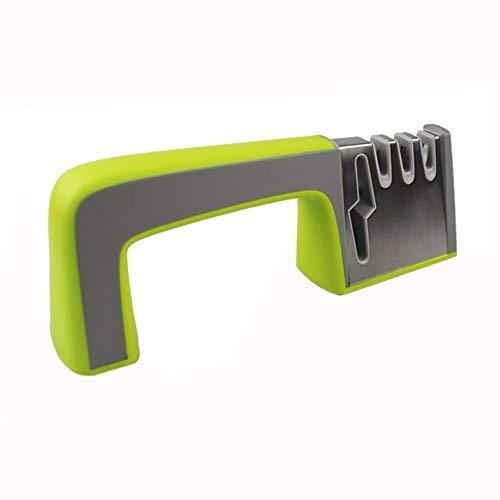 OFKPO Afilador de cuchillos - Base Antideslizante con un, afilado como nuevo