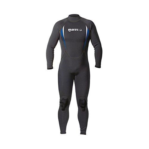 Mares Steamer Manta - Traje de Buceo para Hombre, Color Negro, Talla S6