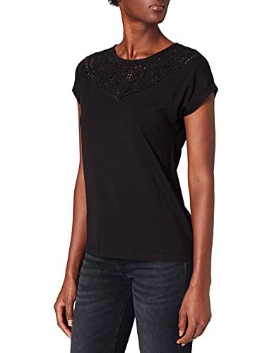 Street One Damen 316614 T-Shirt, Black, 36