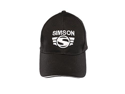 SIMSON Basecap SIMSON-Logo 3D - Farbe Schwarz/Weiß