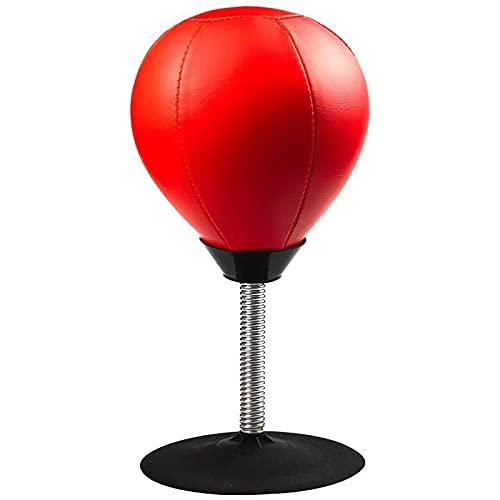 Lqdp Punching Ball Juego de Bolas de Velocidad de Boxeo para Escritorio, Saco de Boxeo de Estilo Moderno, Entrenamiento físico de Boxeo, Alivio del estrés en Segundos, para Adultos/niños/Ancianos