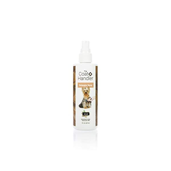 The Coat Handler Anti-Static Detangler Dog Spray – Eliminates Static and Fly-Away Hair, All Natural Ingredients