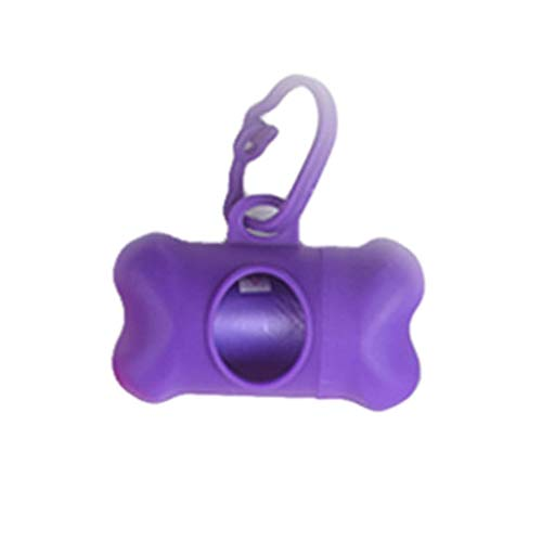 Moent New Pet Portable Shape Pillenspender Dog Poop Box Müllsackhalter Fall Werkzeuge, Pet Trash Bag Dispenser Knochenform