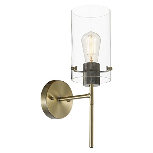 Globe Electric 65958 Wall Sconce, 0, Antique Brass