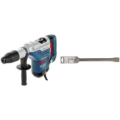 Bosch Profesional Martillo perforador GBH 5-40 DCE, maletín (potencia: 1150 W, energía de impacto: 8,8J) + Bosch 1 618 600 210  - Cincel...