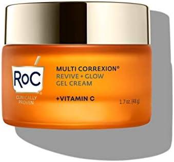 RoC Multi Correxion Revive Glow Vitamin C Moisturizer for Face Gel Cream 1 7 Ounce product image