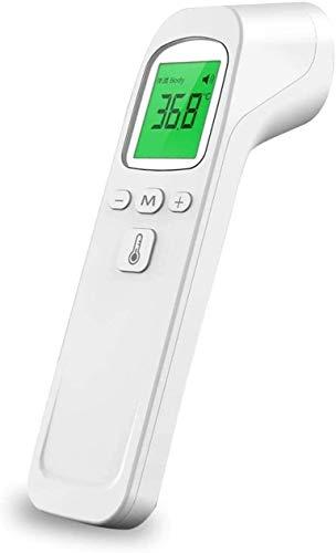 Termómetro electrónico infrarrojo sin contacto, termómetro digital, medición precisa y rápida de la pistola de temperatura para niños, bebés, adultos, coche de salud en el hogar