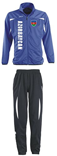 Aprom-Sports Aserbaidschan Trainingsanzug - Sportanzug - S-XXL - Fußball Fitness (XXL) (S)