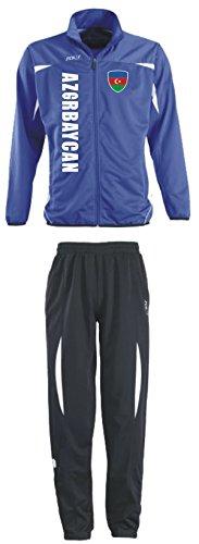 Aprom-Sports Aserbaidschan Trainingsanzug - Sportanzug - S-XXL - Fußball Fitness (XXL) (XL)