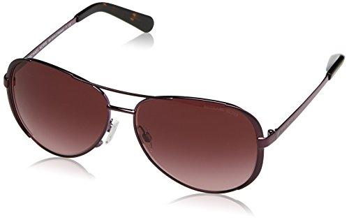 Michael Kors CHELSEA MK5004 Sunglasses 11588H-59 - Plum Frame, Burgundy Gradient MK5004-11588H-59