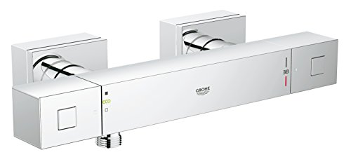 GROHE Grohtherm Cube Thermostat (Brausebatterie, DN 15, Wandmontage) chrom, 34488000