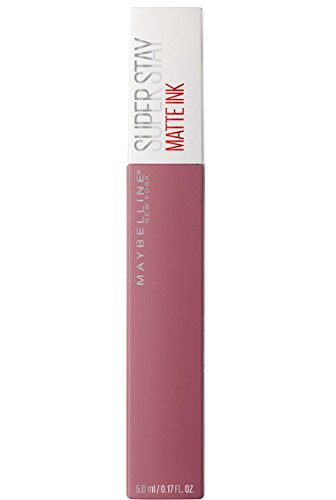 Maybelline New York - Superstay Matte Ink, Pintalabios Mate de Larga Duración, Tono 15 Lover