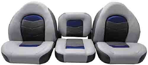 Amazing Deal Pro Angler Series Seating Seat Pro-Angler 17 Gry Blu Cha