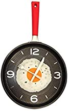 Omelet Fry Pan Kitchen Fried Egg Design Wall Clock