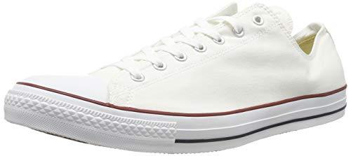 Converse Unisex Chuck Taylor All Star Low Top Optical White Sneakers - 7 B(M) US Women / 5 D(M) US Men