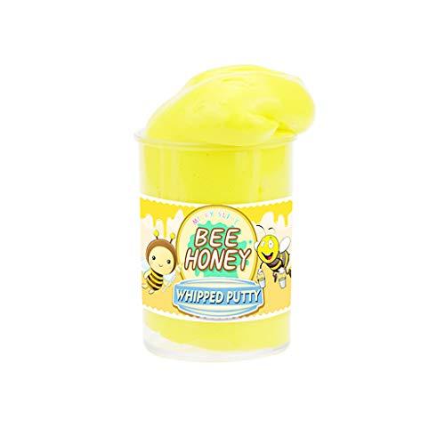 Yookstar 1 Packung DIY Slime Supplies Obst Kit Cloud Slime Aromatherapie Druck Kinder Schleim Cloud Slime Relief Toy Kids Erwachsene (Kaffee)
