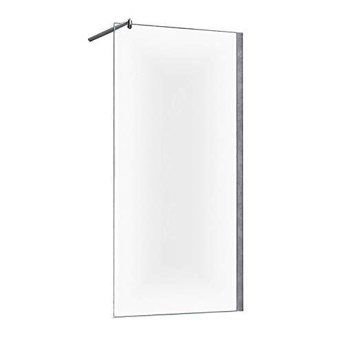 Duschwand Duschabtrennung Lissabon 10mm Glas - 120 x 200 cm