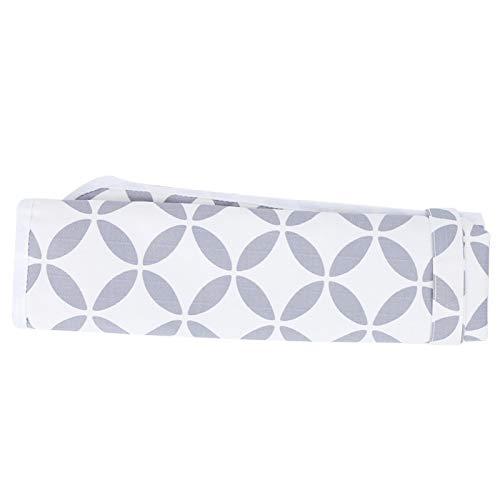 Sábana impermeable, colchón para niños pequeños, para niños, adultos y mascotas para prevenir fugas de orina(White hollow circle)
