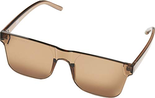 Urban Classics Unisex 105 Sunglasses UC Sonnenbrille, Brown, one size