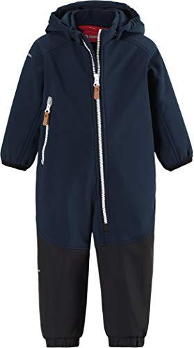 Reima Kids Mjosa Softshell Overall Blau, Kinder Freizeitjacke, Größe 86 - Farbe Navy