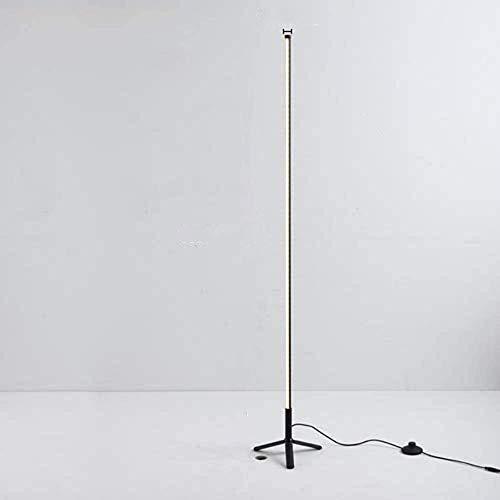 miwaimao Lámpara de pie Symphonie de colores, atenuación, decoración, lámpara tricolor para salón, dormitorio, cuarto de anclaje, lámpara de pie, lámpara de suelo, luz blanca cálida, enchufe europeo