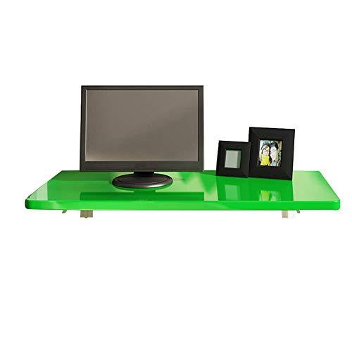Kantoor/bureau, inklapbaar, wandmontage, tafelblad op houten basis, 4 kleuren 7 maten (kleur: rood, afmetingen: 70 x 5 cm).