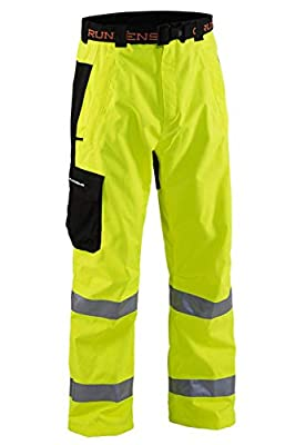 Grundéns Weather Watch Fishing Pant, Reflective Yellow - Medium