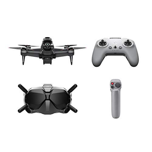 DJI FPV Combo with Motion Controller - First-Person View Drone Quadcopter UAV with 4K Camera, S Flight Mode, Super-Wide 150° FOV, HD Low-Latency Transmission, Emergency Brake and Hover, Gray