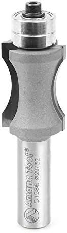 lowest Amana Tool - 51586 Carbide 2021 Tipped Convex Edging popular 23/32 Radius x 29/32 Dia x 1-1/4 x 1/2 Inc online