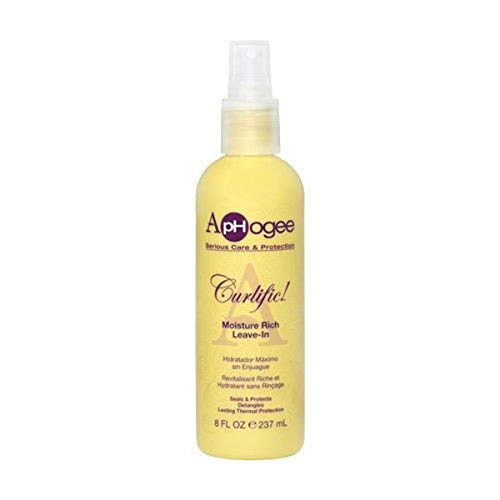 ApHogee Cultific Moisture Rich Leave-In 8 oz by APHOGEE (English Manual)