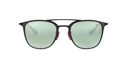 Ray-Ban 0RB3601M Gafas de sol, Black On Top Matte Black, 51 Unisex