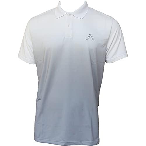 ALBERTO Milo Dry Comfort Polo Herren weiß L