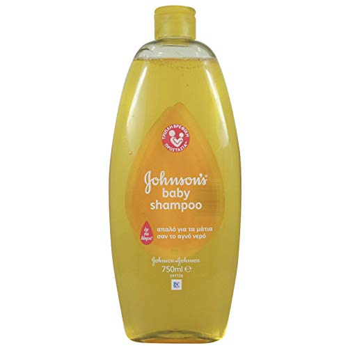Johnsons Baby Shampoo, 25.3 Ounce / 750 ml (Pack of 2)