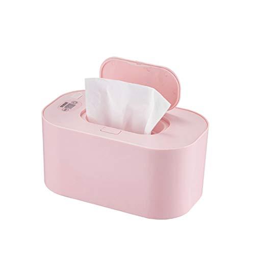 Calentador de toallitas húmedas, calentador de toallitas húmedas con pantalla LED, caja de calentamiento de pañuelos húmedos y dispensador de toallitas húmedas para bebés