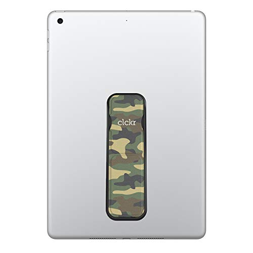 CLCKR Tablet Stand with Multi Viewing Modes Compatible with Universal Tablets and e-Readers - Camo Green