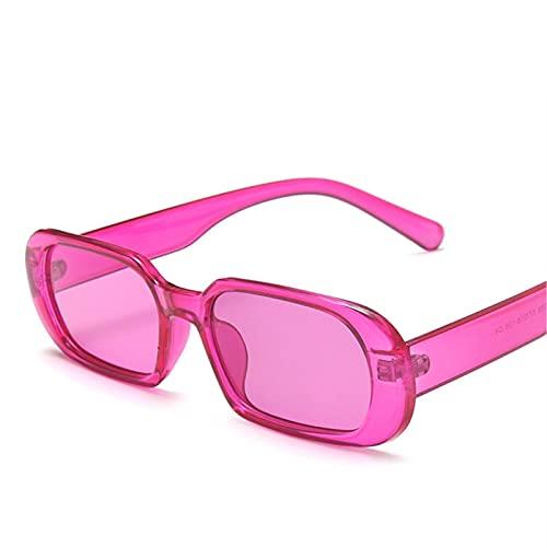 YYCHER Gafas de sol pequeñas para mujer, ovaladas, estilo vintage, color verde, para mujer, UV400 (lentes de color: C8)
