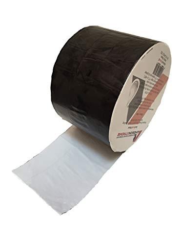 AX©*PREMIUM*10m*50mm Schwarzes Reparaturband Klebeband Dichtung Abdichtband für Teichfolien, EPDM, PVC, Bitumen, Flicken wasserdicht, selbstklebend