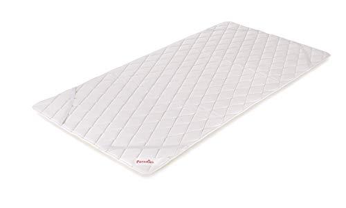 PARADIES - die kühlende Matratzenauflage 100x200 cm, Cool Comfort Pad Bio - Matratzenschoner, Öko-Tex Zertifiziert Standard 100 Klasse 1, medizinisch getestet