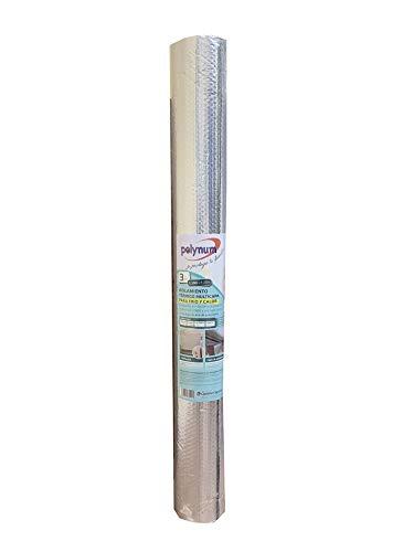 Optimer System – Aislante Térmico Reflexivo de Aluminio para Frío y Calor, para Pared, Techo, Ventana, Persiana, Radiador, Puerta Garaje, Furgoneta
