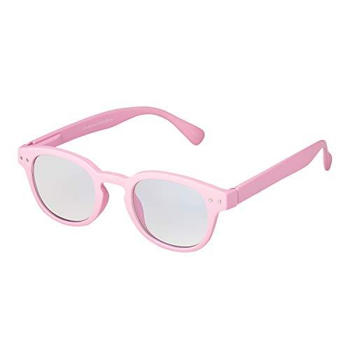 Ultra Rosa Horn Umrandet Rahmen Kinder Anti Blaulicht Brille Blockierend Mädchen Jungen Computerspiele Brillen UV Filter Augenbelastung Lesebrillen Gläser PC