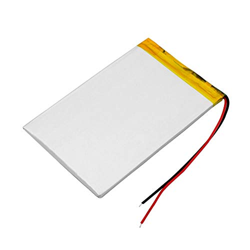 wangxiaoping 356090 Li-ion Battery 3.7v 3000mah Rechargeable Li-Po Lithium Polymer Batteries MP5 GPS E-book Tablet Battery Replace-3.7V_2 pieces