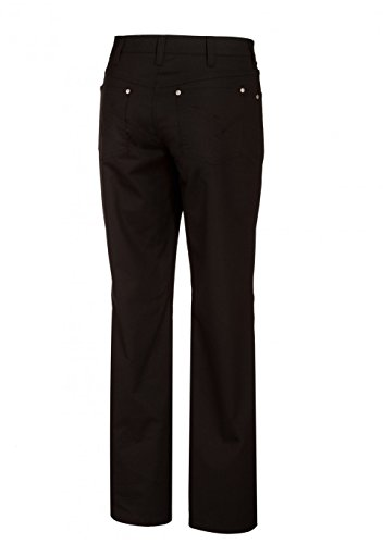 BP 1662 686 dames jeans gemengd weefsel met stretchaandeel zwart, maat 38l
