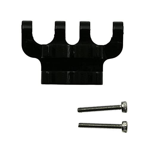 Staffa di montaggio del sollevatore posteriore compatibile con Axial SCX24 C10 Scala 1/12 RC Rock Crawler Off-Road compatibile con accessori per parti di auto modello hobby ( Color : Black )