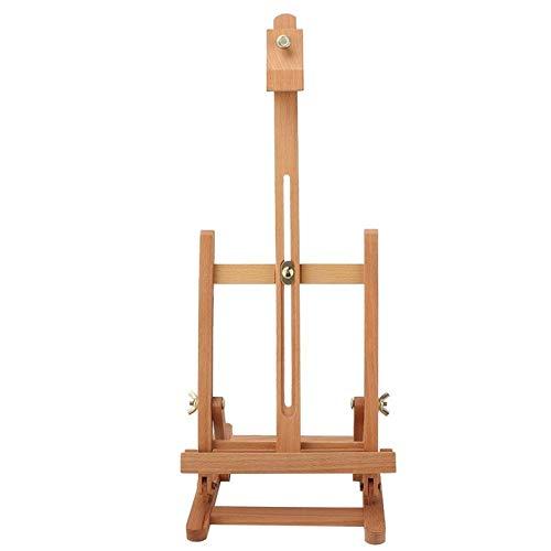 Caballete de pintura, caballete, caballete de mesa, soporte de pintura de madera Caballete de artista ajustable para pintura de artista para dibujo de estudio