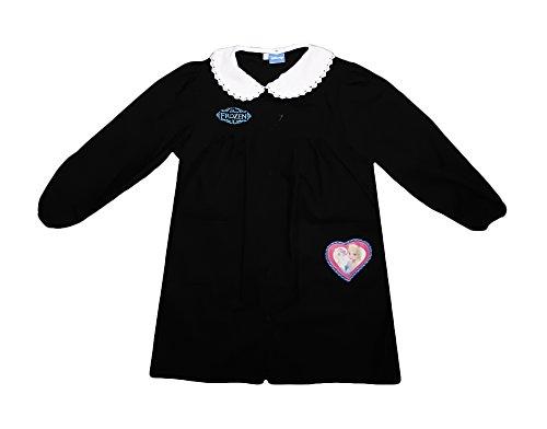 Disney grembiule scuola bimba FROZEN elsa nuova collezione blu o nero art. G020 (95, nero)