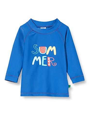 Fred'S World By Green Cotton Swim T T-Shirt Anti-UV, Bleu (Blue 019403901), 56/62 Bébé garçon