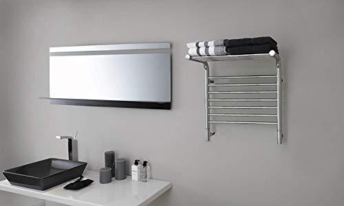 Kontour K4023E Linear Towel Warmer Polished Stainless Steel